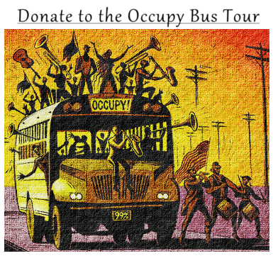 Donate to the Occupy Bus Tour